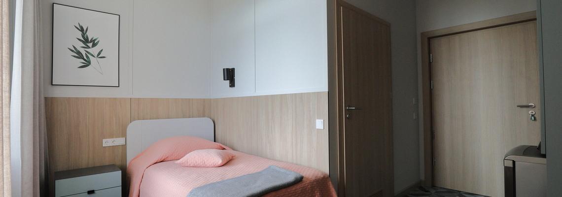 Vienvietis standartinis pagerintas kambarys    (A korpusas)